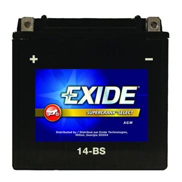 Exide Supercrank Select ATV Battery 14-BS