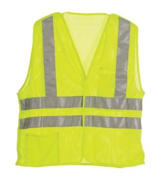 Berne Mens High-Visibility Easy-Off Vest
