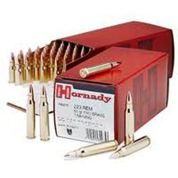Hornady 223 Rem 55 GR FMJ BT 50RD