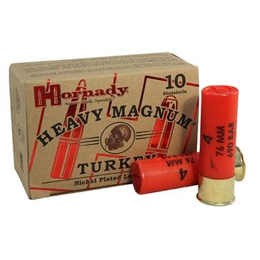 """Hornady Heavy Magnum Turkey 12ga 3"""" #4"""