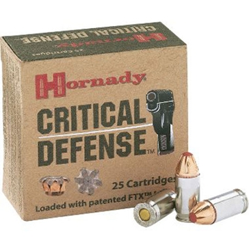 "Hornady Critical Defense 410 Triple Defense 2-1/2"" 20RD"