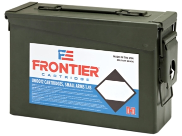 Hornady Frontier .223Rem 55gr FMJBT 500 Round Ammo Can FR104
