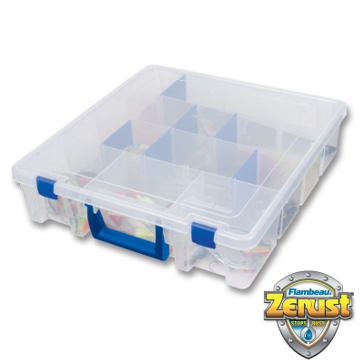 Flambeau Tuff Tainer Double Deep Satchel Box