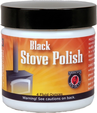 Meeco Raven Black Stove Polish - 4 oz