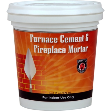 Meeco Furnace Cement and Fireplace Mortar - Quart