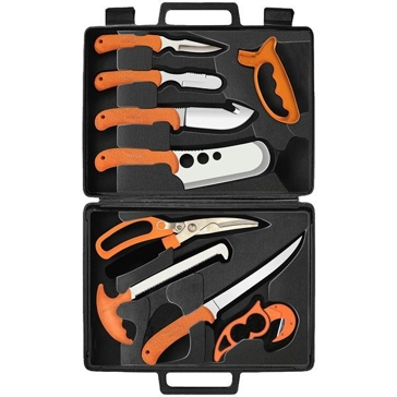 Ruko 11-Piece Deluxe Fish and Game Processing Kit