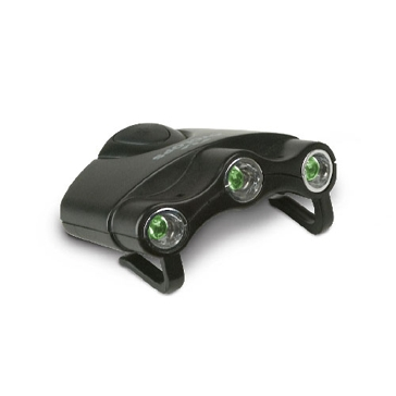 Cyclops Orion Hat Clip Light Black/Green CYC-HC1-G
