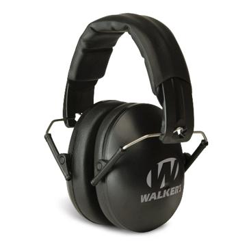 Walkers Game Ear Youth & Women Black Folding Muff
