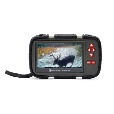 StealthCam STC-CRV43X SD Card Viewer with Color Touch Screen