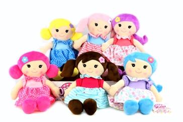 """Gi-Go Toys 11"""" Soft Doll Assorted"""