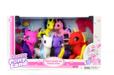 Gi-Go Toys Unicorn Family Set