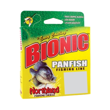 Northland Bionic Panfish 6lb Green Camo Fishing Line 350 Yard Spool