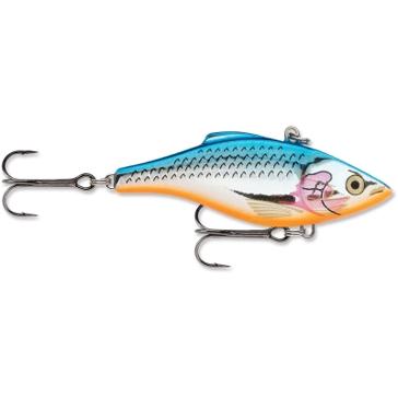 Rapala Rattlin' Rapala #04 Silver Blue Fishing Lure
