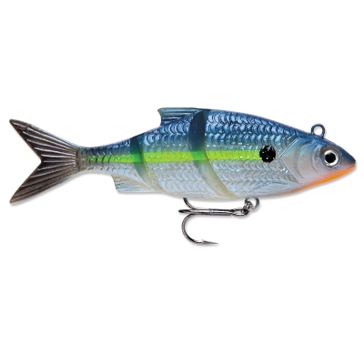"Rapala Live Kickin' Shad 3"" Blue Steel Shad Fishing Lure"