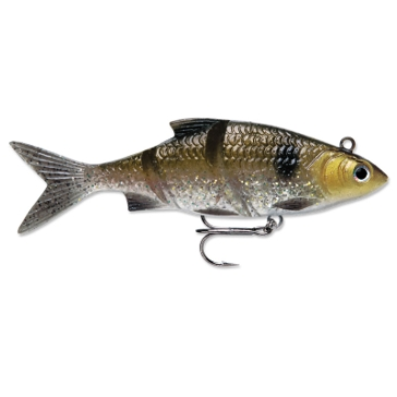 "Rapala Live Kickin' Shad 3"" Gold Shiner Fishing Lure"