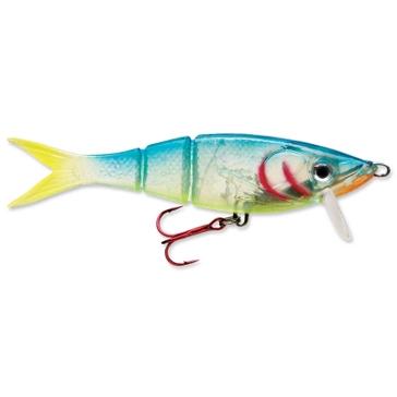 "Rapala Kickin' Minnow 4"" Crystal Parrot Fishing Lure"