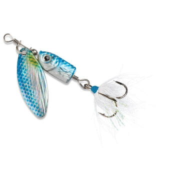 Blue Fox Flash Spinner #01 Blue Shad Fishing Lure