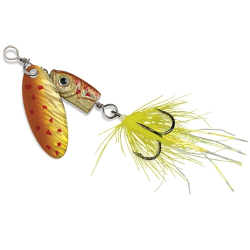 Blue Fox Flash Spinner #02 Black/Chartreuse Fishing Lure