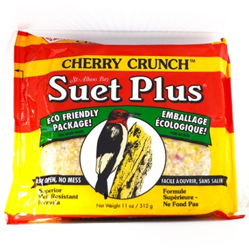 St. Albans Bay Suet Plus 11oz Cake Cherry Crunch