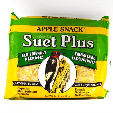 St. Albans Bay Suet Plus 11oz Cake Apple Snack