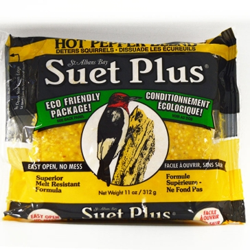 St. Albans Bay Suet Plus 11oz Cake Hot Pepper Blend
