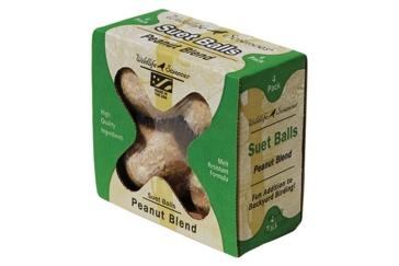 St. Albans Bay Suet Plus 4 Pack Balls Peanut Blend
