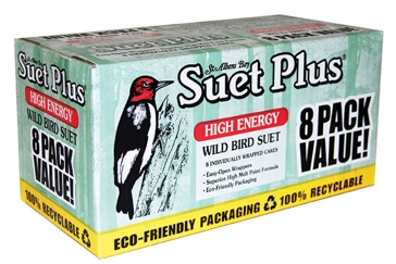 St. Albans Bay Suet Plus 11oz Value 8 Pack