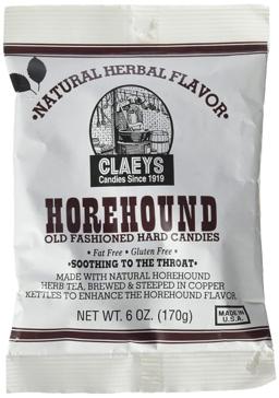 Claeys Old Fashioned Hard Candies - Horehound 6 Oz.