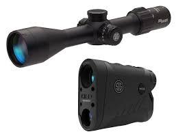 Sig Sauer Sierra 3 BDX Ballistic Data Xchange Riflescope and Laser Rangefinder Combo