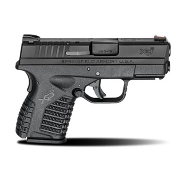 "Springfield Armory XD-S 9mm 3.3"" Black Single Stack Handgun"