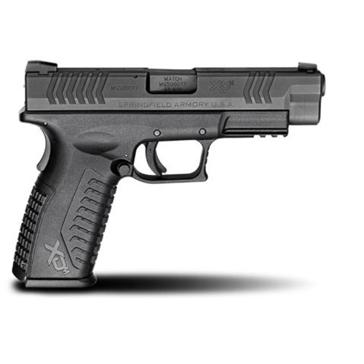 "Springfield Armory XD(M) .45ACP 4.5"" Black Full Size Handgun"