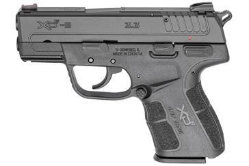"Springfield XD-E 9mm Single Stack Pistol ""THE HAMMER"""