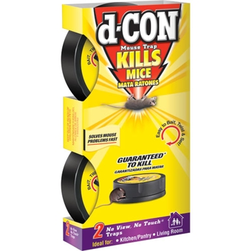 d-CON 2 Pack No Touch No View Mouse Trap 1920082043