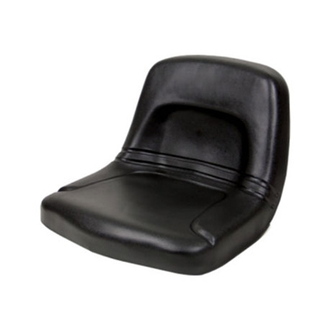 Concentric High Back Tractor Seat Black