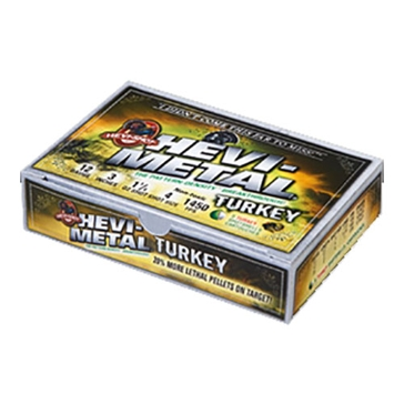 "HEVI-Shot Hevi-Metal Turkey 12GA 3-1/2"" Shot Size 4"