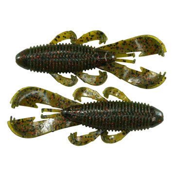 Googan Baits Bandito Bug Watermelon Red Flake 7 Pack