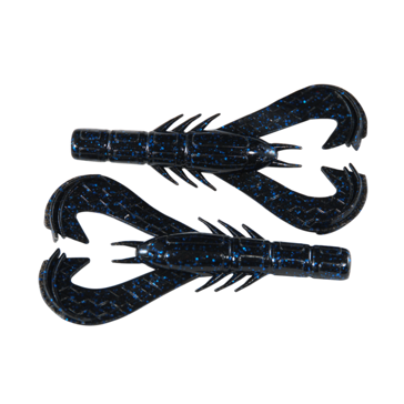Googan Baits Krackin' Craw Black Blue Flake 7 pack