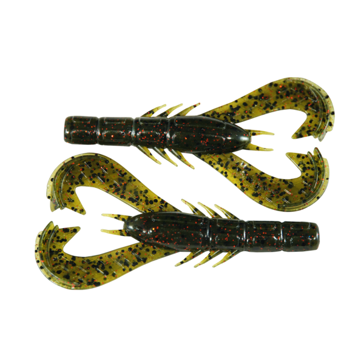 Googan Baits Krackin' Craw Watermelon Red Flake 7 pack