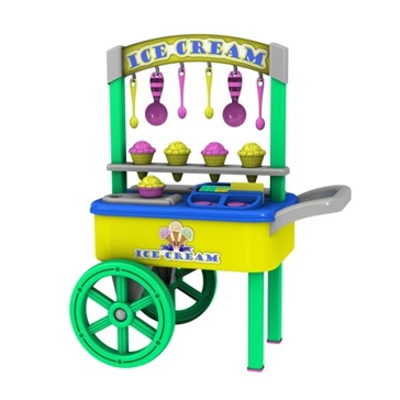 American Plastic Toys Ice Cream Cart 20320