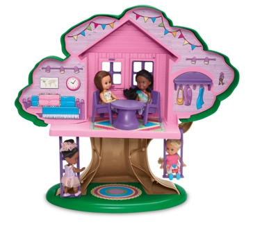 American Plastic Toys Fashion Doll Treehouse 90000