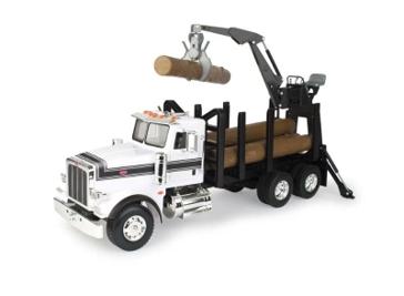 Tomy Big Farm Peterbilt Log Truck 1:16