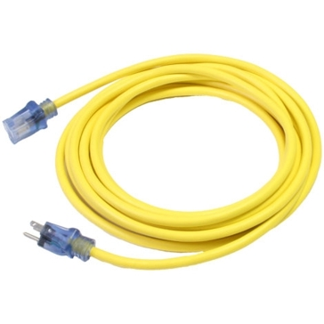 Century 16/3 50ft Lighted Extension Cord