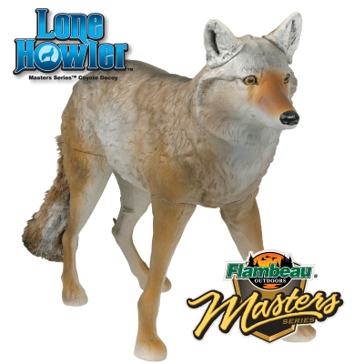 Flambeau Masters Series Lone Howler Coyote Decoy 5985MS
