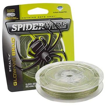 SpiderWire Stealth Glow-Vis Braid Fishing Line