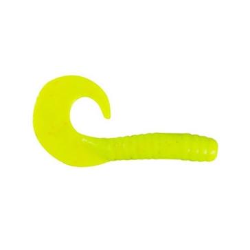 "Berkley Gulp! Alive! Jigging Grub 1-1/2"" Chartreuse Bait"
