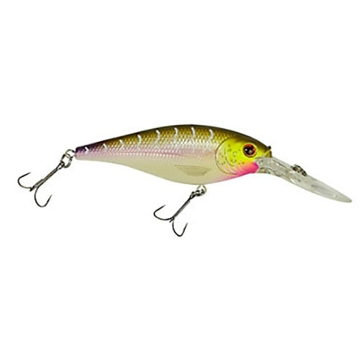 "Berkley Flicker Shad 1-1/2"" Purple Tiger 1/8oz Lure"