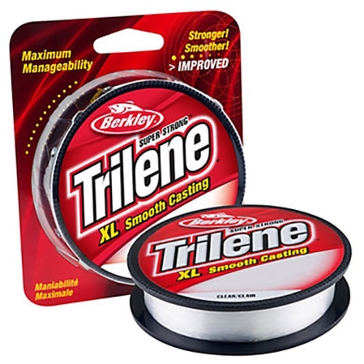 Berkley Trilene XL 8lb Clear Fishing Line 330 Yard Spool