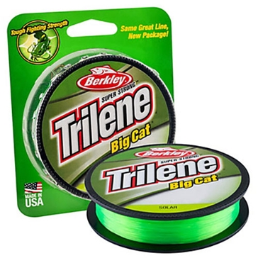Berkley Trilene Big Cat 30lb Solar Fishing Line 220 Yard Spool