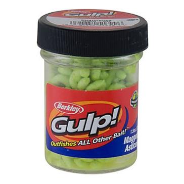 Berkley Gulp! Maggot 1.5oz Chartreuse Bait
