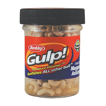 Berkley Gulp! Maggot 1.5oz Natural Bait